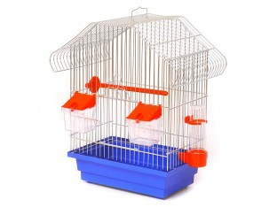 """Клетка для птиц """"Малый Китай"""" К040 28x18x40см. золото"""