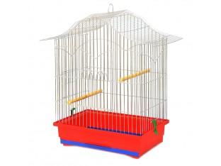 """Клетка для птиц """"Корелла"""" КЦ054 47х30х62см. оцинкованная"""