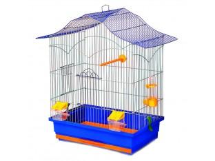 """Клетка для птиц """"Лори"""" К060 47х30х62см. окрашеная"""
