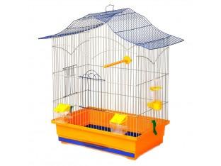 """Клетка для птиц """"Лори"""" КЗ060 47х30х62см. золотая"""