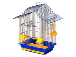 "Клетка для птиц ""Мальва"" КЗ049 33х23х45см. золотая"