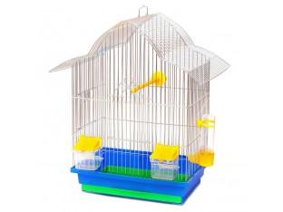 """Клетка для птиц """"Мальва"""" КЦ049 33х23х45см. оцинкованная"""