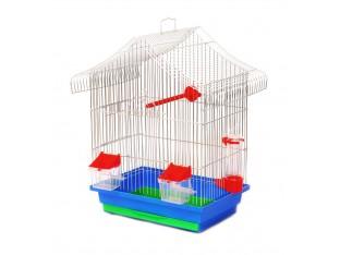 """Клетка для птиц """"Мини-1"""" КЦ046 33х23х45см. оцинкованная"""