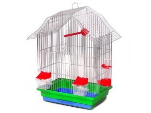 """Клетка для птиц """"Мини-2"""" КЦ047 33х23х47см. оцинкованная"""