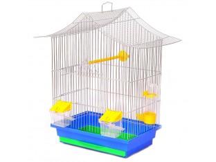 """Клетка для птиц """"Мини-3"""" КЦ048 33х23х47см. оцинкованная"""