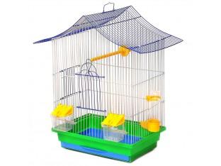 """Клетка для птиц """"Мини-3"""" К048 33х23х47см. окрашеная"""