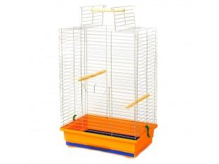 """Клетка для птиц """"Нимфа"""" КЦ062 47х30х66см. оцинкованная"""