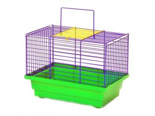 "Клетка для птиц ""Птичка"" К035 28х18х21см. окрашеная"