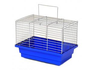 """Клетка для птиц """"Птичка"""" КЦ035 28х18х21см. оцинкованная"""