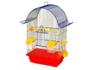 """Клетка для птиц """"Ретро"""" КЗ036 28х18х45см. золотая"""