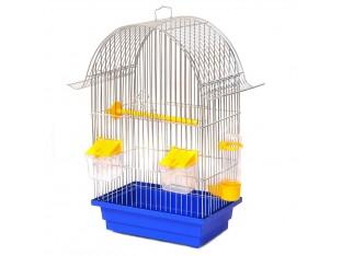 """Клетка для птиц """"Ретро"""" КЦ036 28х18х45см. оцинкованная"""