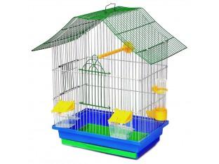 "Клетка для птиц ""Шанхай"" К050 33х23х40см. окрашеная"