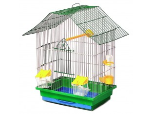 """Клетка для птиц """"Шанхай"""" КЗ050 33х23х40см. золотая"""