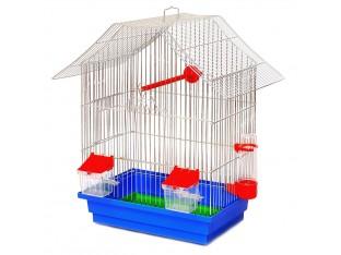 """Клетка для птиц """"Шанхай"""" КЦ050 33х23х40см. оцинкованная"""