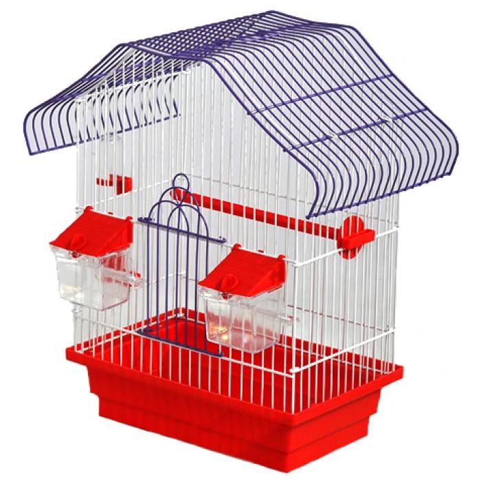 """Клетка для птиц """"Малый Китай"""" К040 28x18x40см. окраш."""