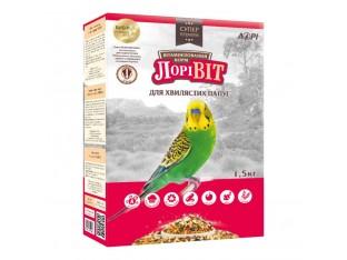 Лоривит 3в1 корм для волнистых попугаев 1,5 кг
