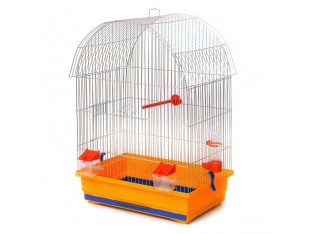 "Клетка для птиц ""Виола"" К061 47x30x66см. оцинк."