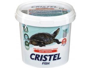 Корм для водоплавающих черепах Cristel Turtle aquatic 400гр 1л