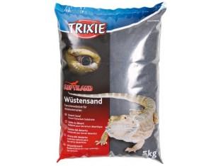 Пустынный черный песок для террариума 5кг Trixie 76130
