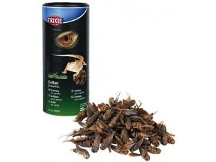 Сушеные сверчки для рептилий 250мл/25гр Trixie 76392
