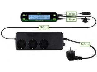 Цифровой термостат гигростат для террариумов Trixie 76125