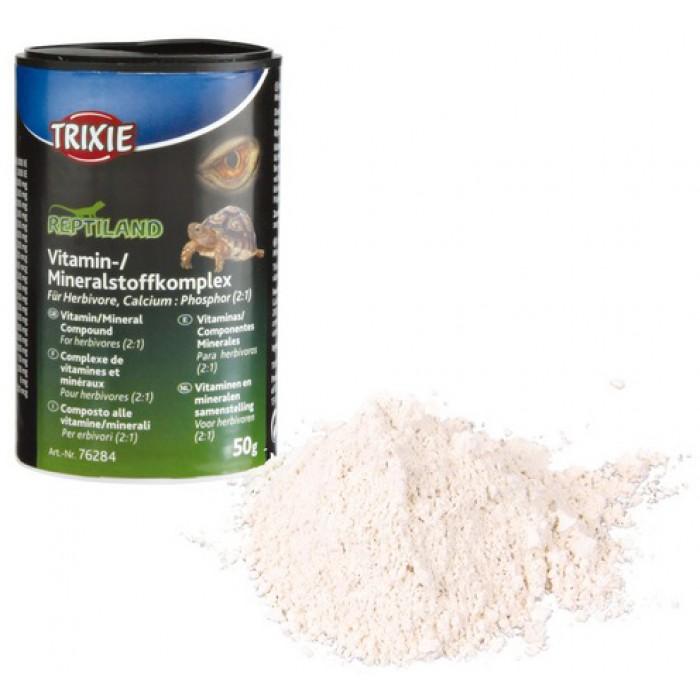 Витаминно-минеральный корм для травоядных рептилий 50гр Trixie 76284
