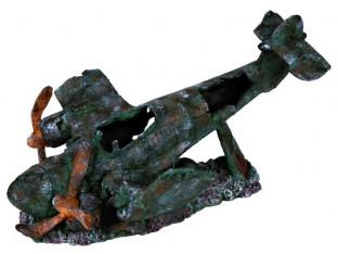 Декорация для аквариума аэроплан Trixie 8707