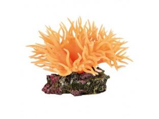Декорация для аквариума Анемон оранжевый Trixie 8888 8см