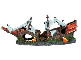Декорация для аквариума Обломки корабля Trixie 87817