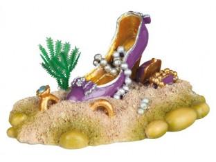 Декорация для аквариума Туфелька женская Trixie 88133 10см