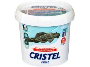 Корм для анцитрусовых рыб Cristel Ancistrus Standard 1л 550гр