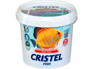 Корм для крупных рыб Cristel Base maxi 1л 600гр