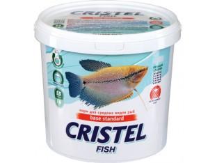 Корм для средних рыб Cristel Base standard 1л 300гр