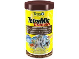 Tetra Min Granules гранулы для всех видов аквариумных рыб 1 л