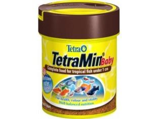 TetraMin Baby основной корм для мальков до 1см 66мл