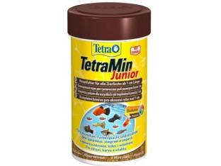TetraMin Junior специальный корм для мальков от 1см 100мл