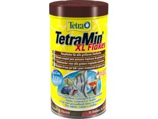 TetraMin XL Flakes хлопья для всех видов тропических рыб 1 л