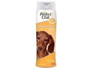 8in1 Perfect Coat Tearless Protein Shampoo шампунь протеиновый для собак
