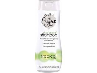 8in1 Perfect Coat Shed Control Shampoo шампунь для регуляции линьки собак 473мл