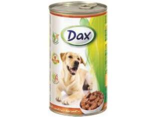 DAX птица консервы для собак 1,24 кг.