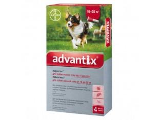 Advantix (Адвантикс) капли для борьбы с эктопаразитами собак Адвантикс 10-25кг