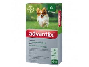 Advantix (Адвантикс) капли для борьбы с эктопаразитами собак Адвантикс до 4кг