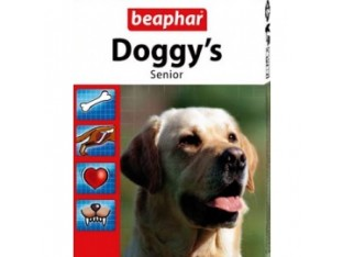 Beaphar Doggy′s Senior кормовая добавка для собак старше 7 лет 75тб