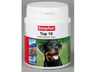 Beaphar Top 10 мультивитаминная добавка для собак 180