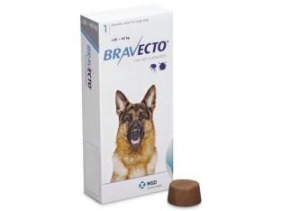 Bravecto (Бравекто) таблетки от блох и клещей для собак весом 20-40кг