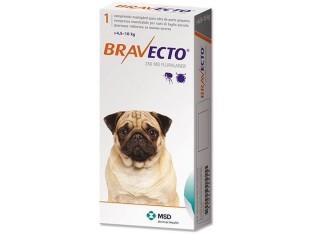 Bravecto (Бравекто) таблетки от блох и клещей для собак весом 4,5-10кг