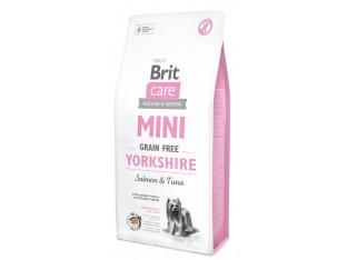 Brit Care Grain Free Mini Yorkshire с лососем для йоркшерских терьеров 2 кг