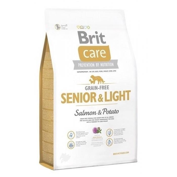Brit Care Grain Free Senior & Light для пожилых собак всех пород 3 кг