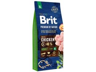 Brit Premium Dog Adult XL для взрослых собак гигантских пород 15 кг