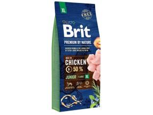 Brit Premium Dog Junior XL для щенков гигантских пород 15 кг